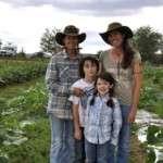 Carol, Sunshine, Rowan, Rachel - Burnin' Daylight Farm