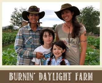 burnin' daylight farm